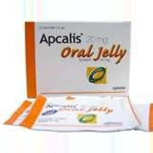Apcalis Jelly - Tadalafil - Ajanta Pharma, India