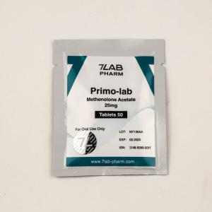 Primo-lab 25mg - Methenolone Acetate - 7Lab Pharma, Switzerland